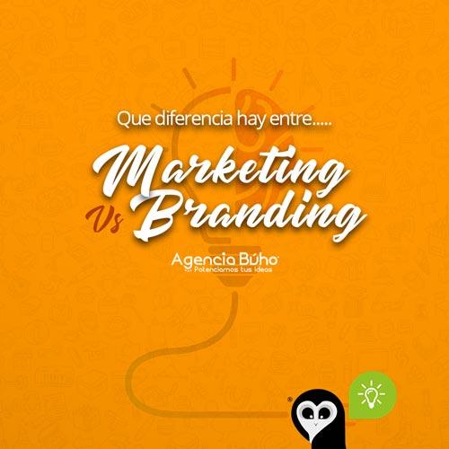 Marketing digital Vs Branding