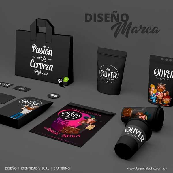 Diseño logo y marca, Agencia Búho diseño creativo